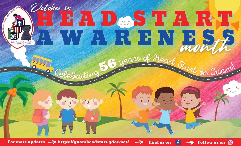 October 2021 is Head Start Awareness Month